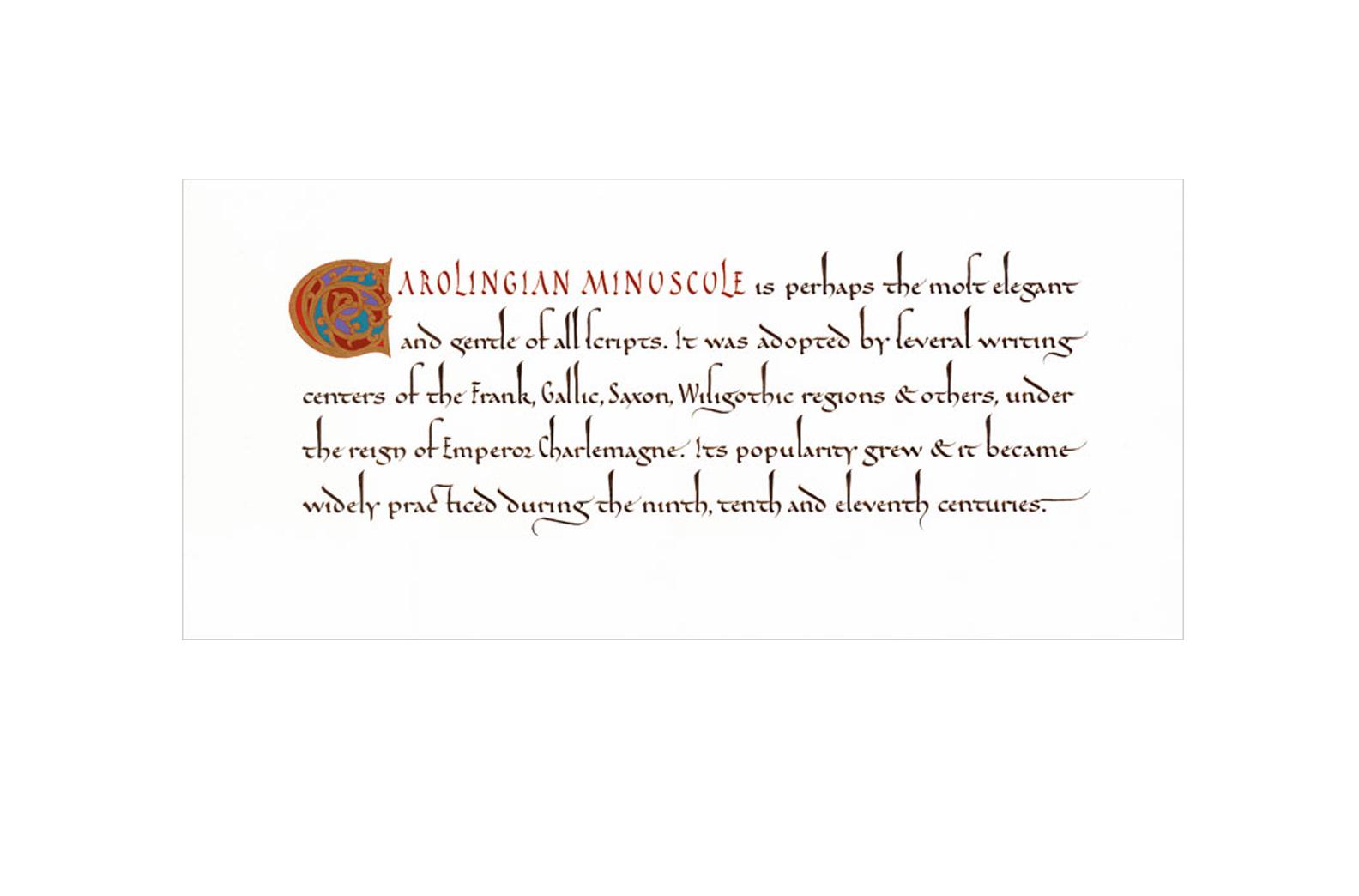 Carolingian Minuscule