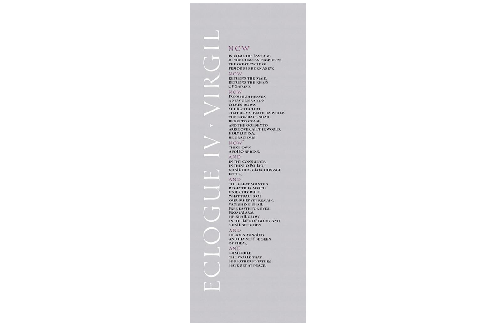 Eclogue IV