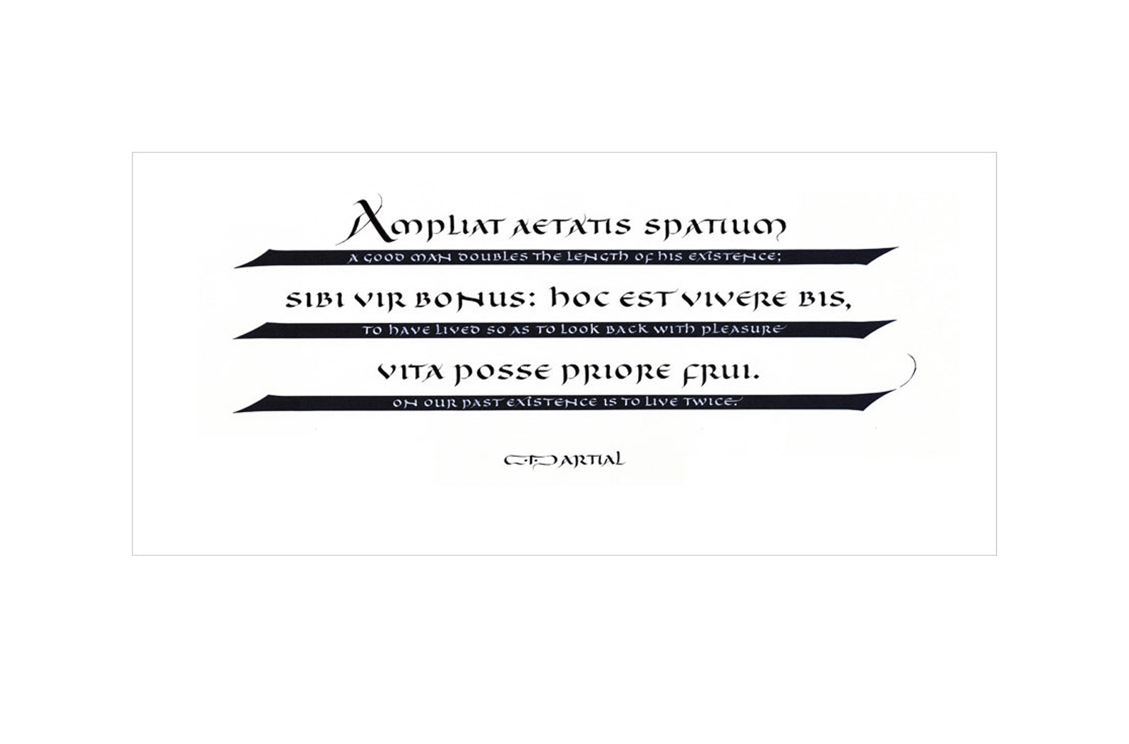 Martial quotation