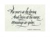 Robert Browning's word