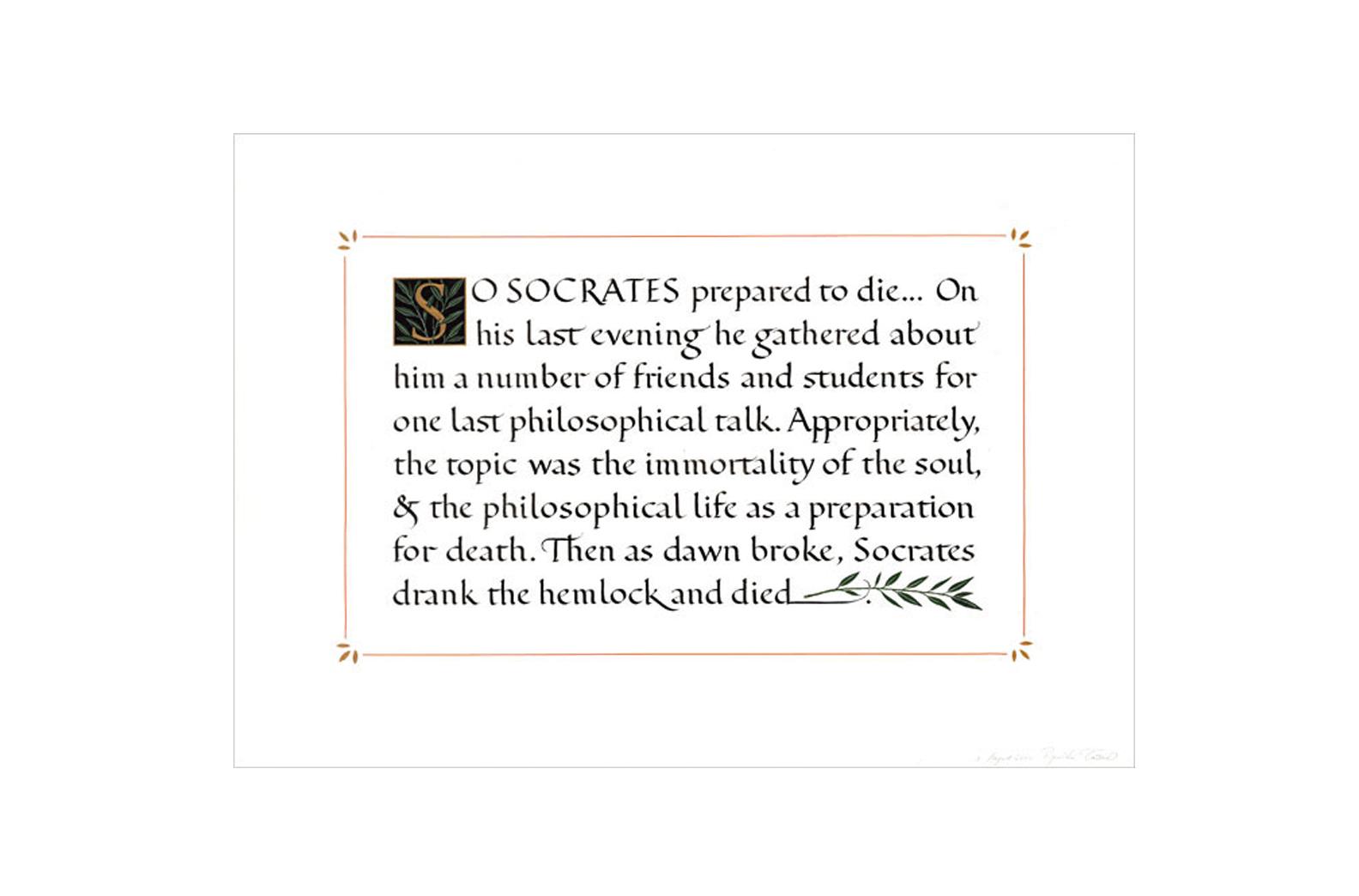 So Socrates